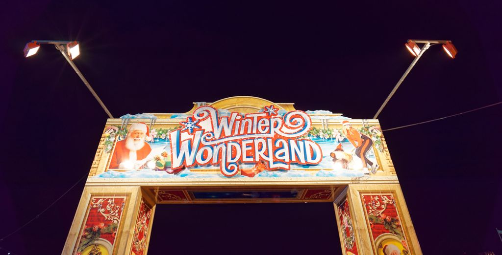 and visit famous Winter Wonder Land in Hyde park