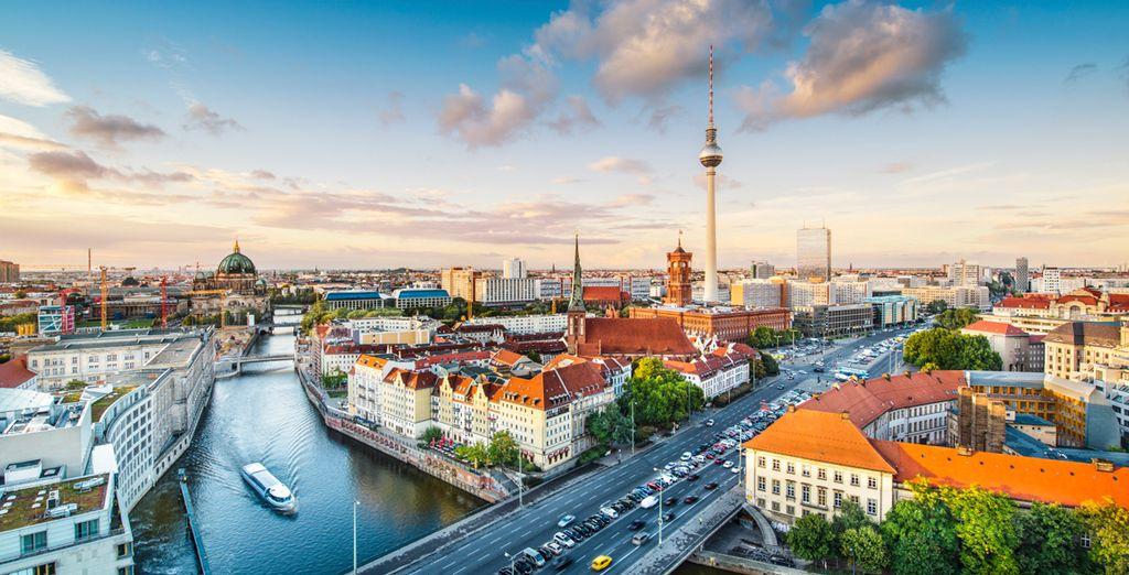 Located in Berlin, a buzzing modern metropolis