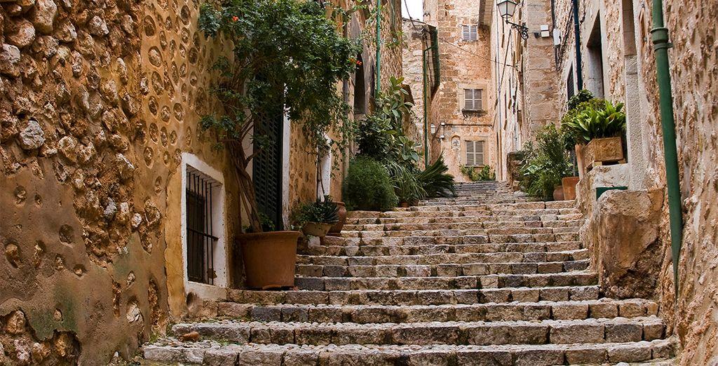 Its quaint cobbled streets...