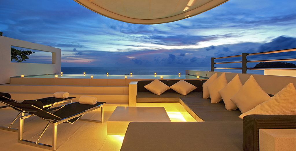 Or from your gorgeous villa