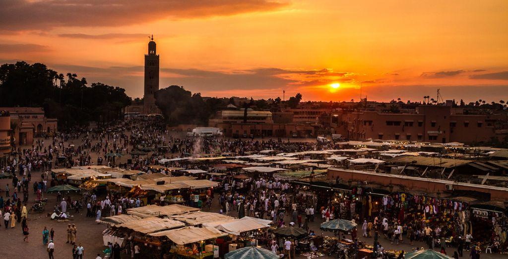 Explore Marrakech's intoxicating souks