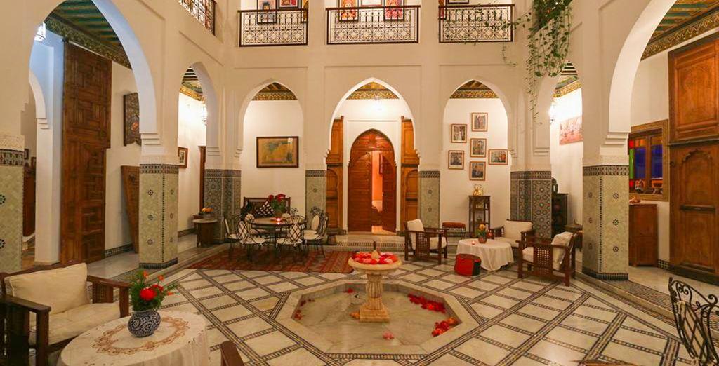 Admire the fine, Arabic design throughout this unique boutique property