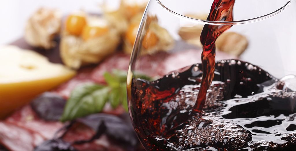 or visit the wine bar and ask a trusted sommelier for a pairing