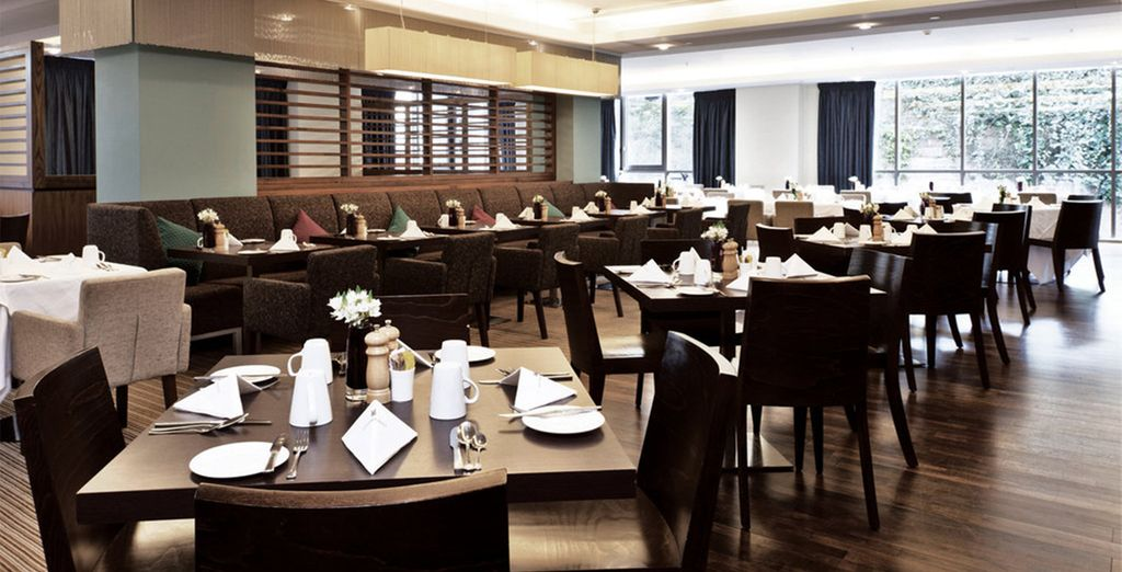 Our members can enjoy a daily breakfast