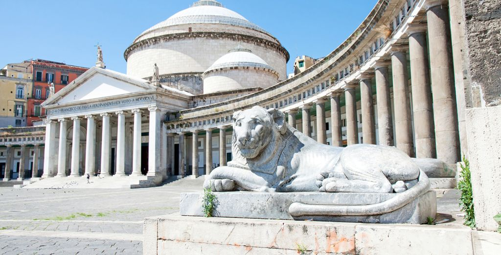 Discover Naples, filled with history and amazing architecture