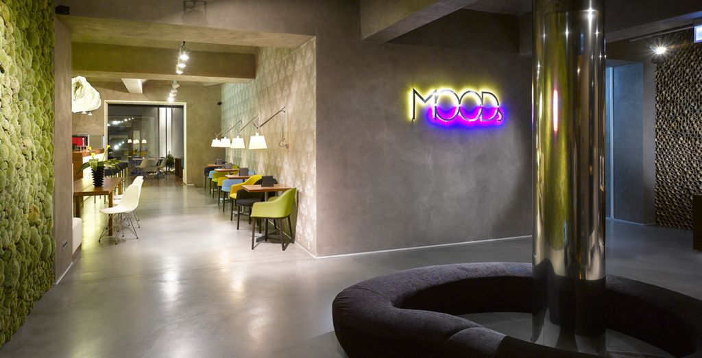 In a chic design property - MOODs Boutique Hotel