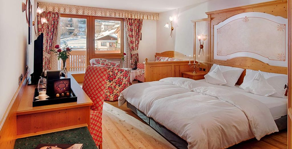 Where you will find your spacious Junior Suite