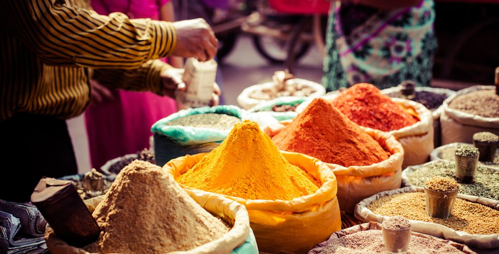 Be immersed in India's flavours and spices