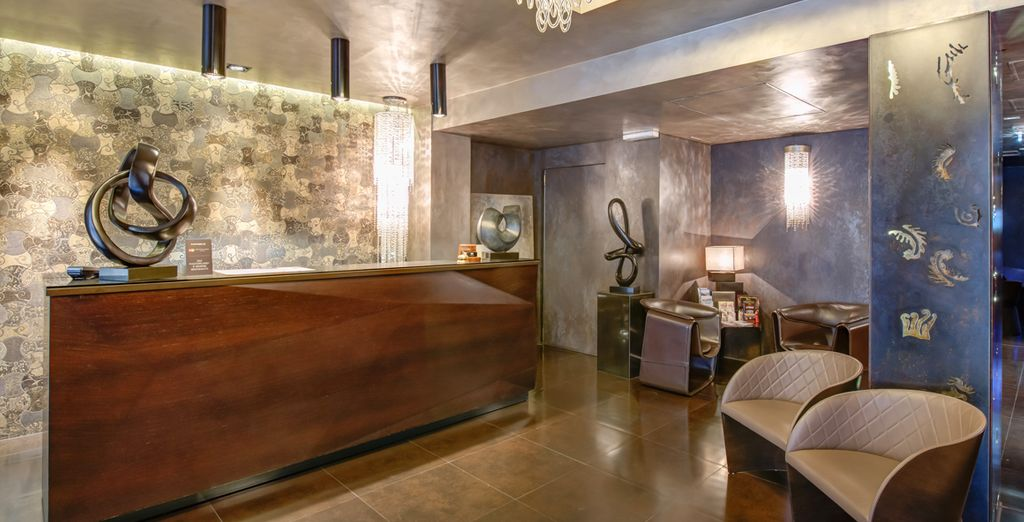 Staying at the Berg Hotel you can enjoy modern luxury