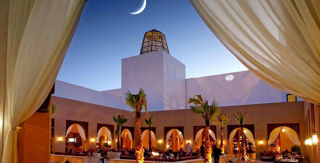 Arabian nights await..