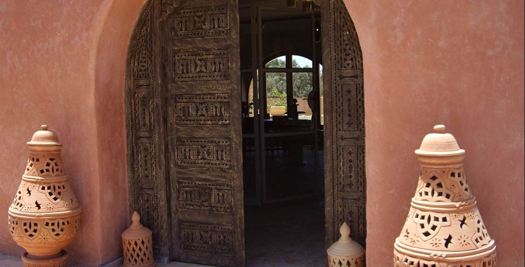 Traditionally built in Morrocan style