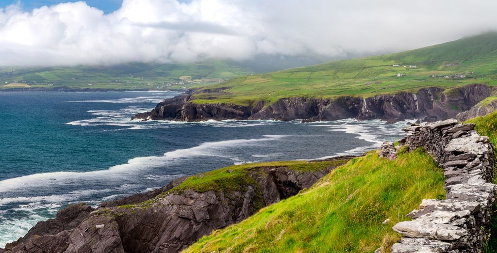 And close to the Wild Atlantic Way - an amazing coastal route of 2,500km which runs down the West of Ireland.