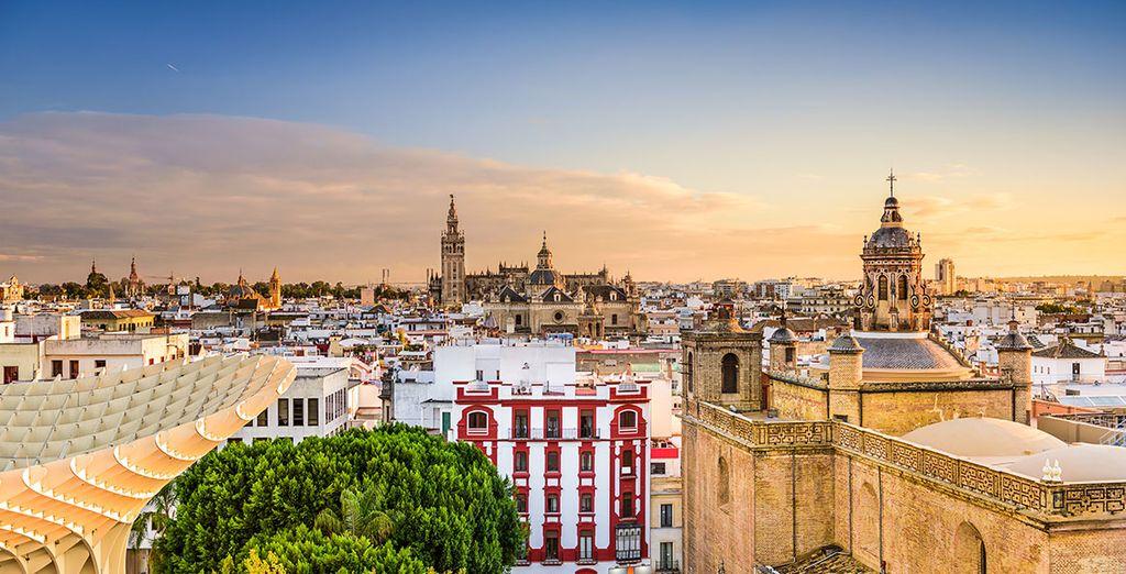 The beautiful Seville awaits...