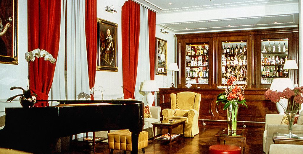 This hotel is a former noble residence, dating back to the 18th century
