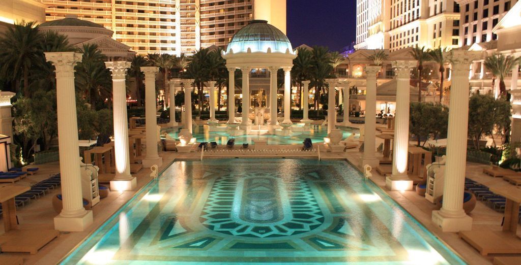 Welcome to Caesar's Palace