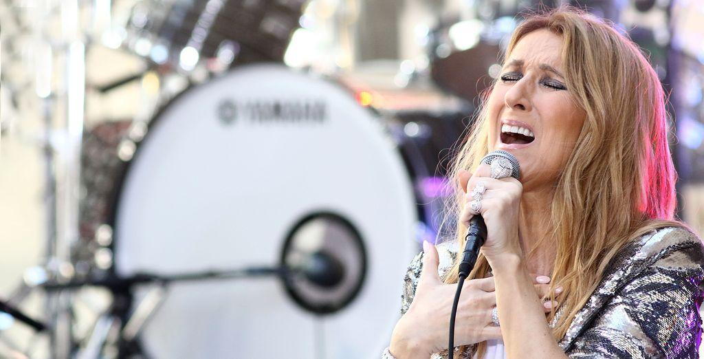 See the Diva herself, Celine Dion!