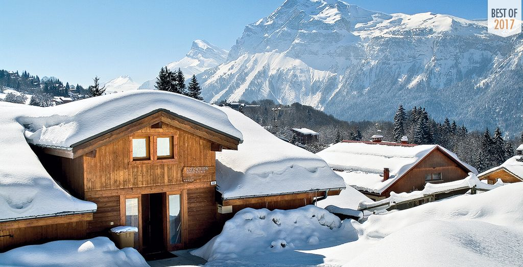 The perfect place for a dreamy ski holiday
