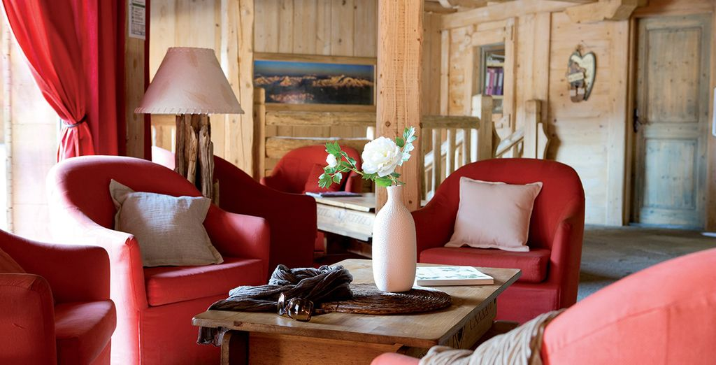 Delve into the alpine ambiance
