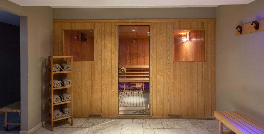 And a sauna