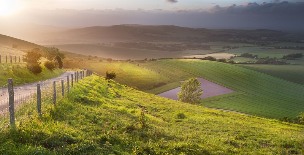 Set in the foothills of the glorious South Downs