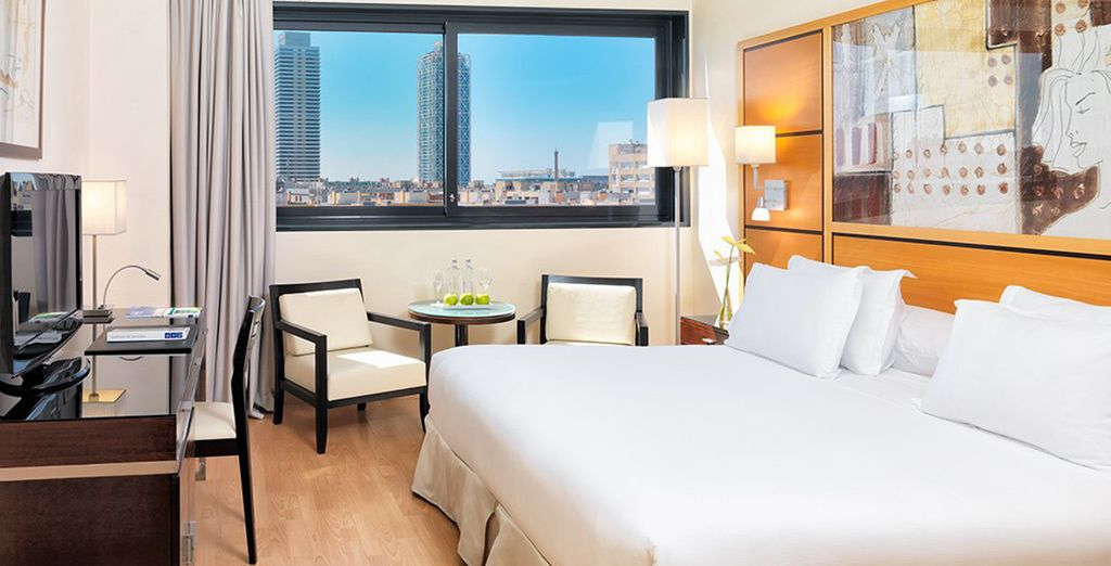 Stay in a Standard Double Room