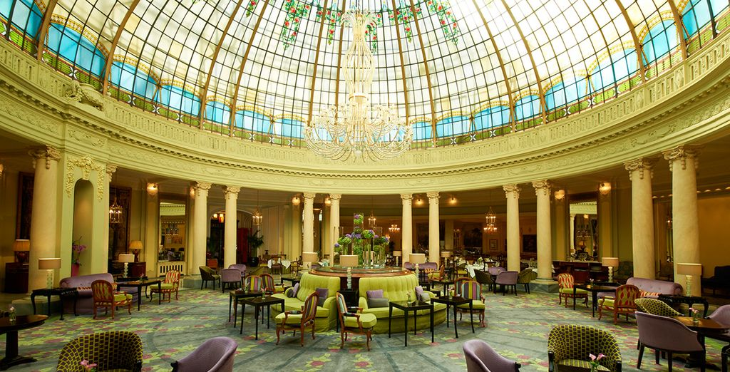 You are sure to love the regal feel of this stunning hotel