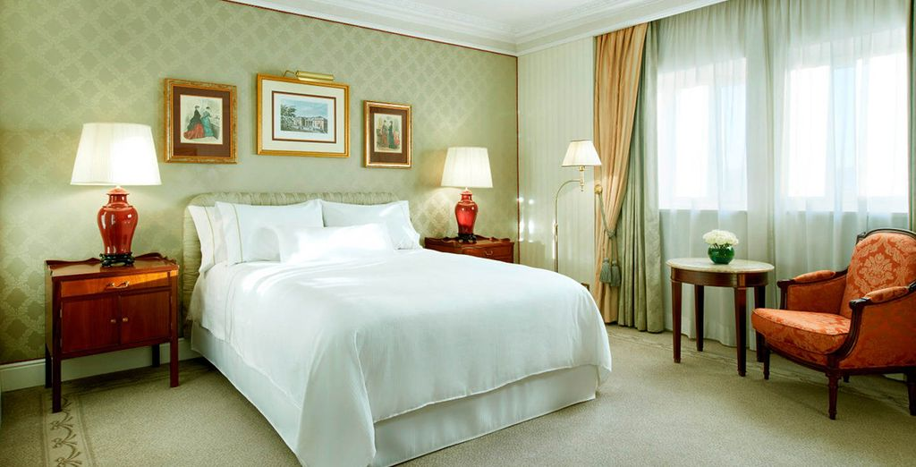 Stay in an open, airy Premium Room