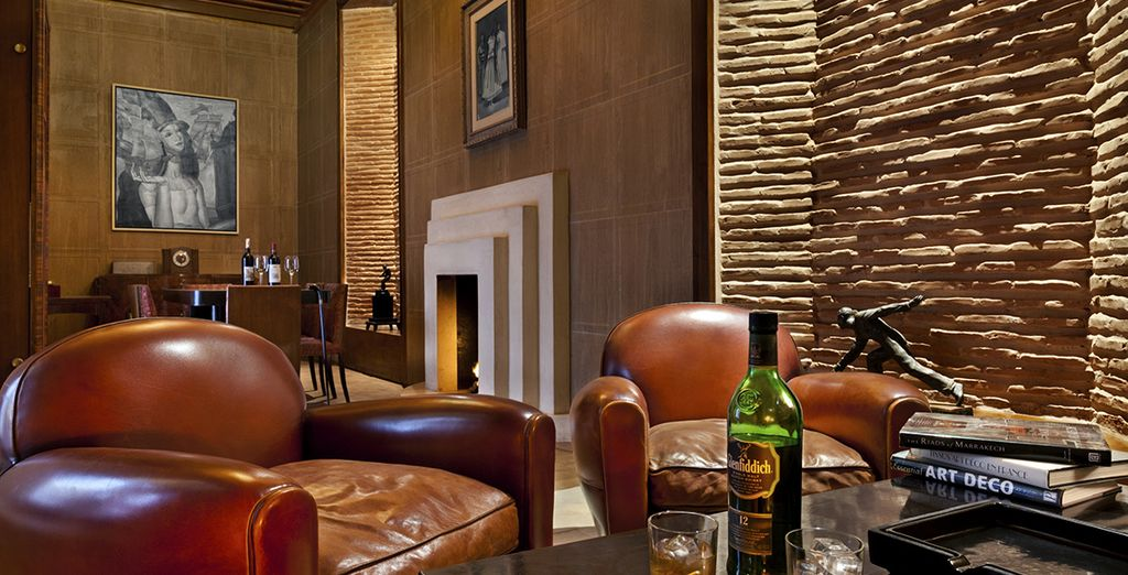 And end your evening at the stylish Churchill Bar