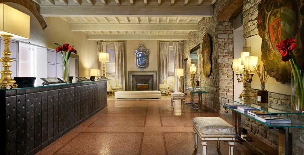Head to Florence, and check in to a hotel with historical charm