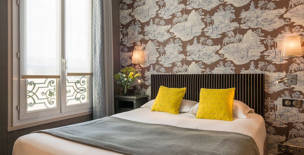 Stylish rooms welcome you...