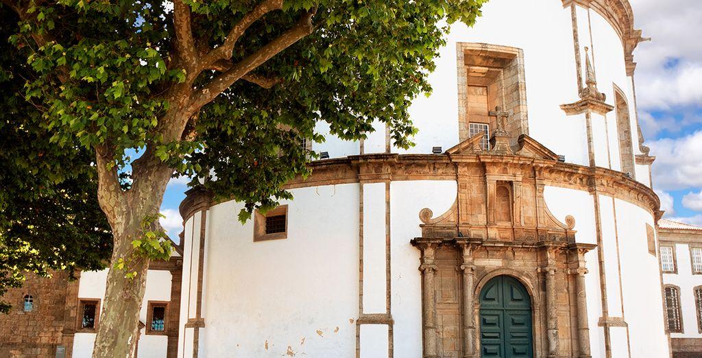 Visit famous sights like the Monastery da Serra do Pilar