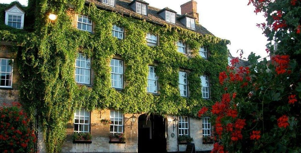 Welcome to the Macdonald Bear Hotel - a 13th century former coaching inn