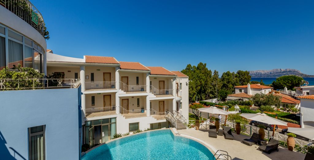Book a stay at the Pelican Beach Resort and Spa