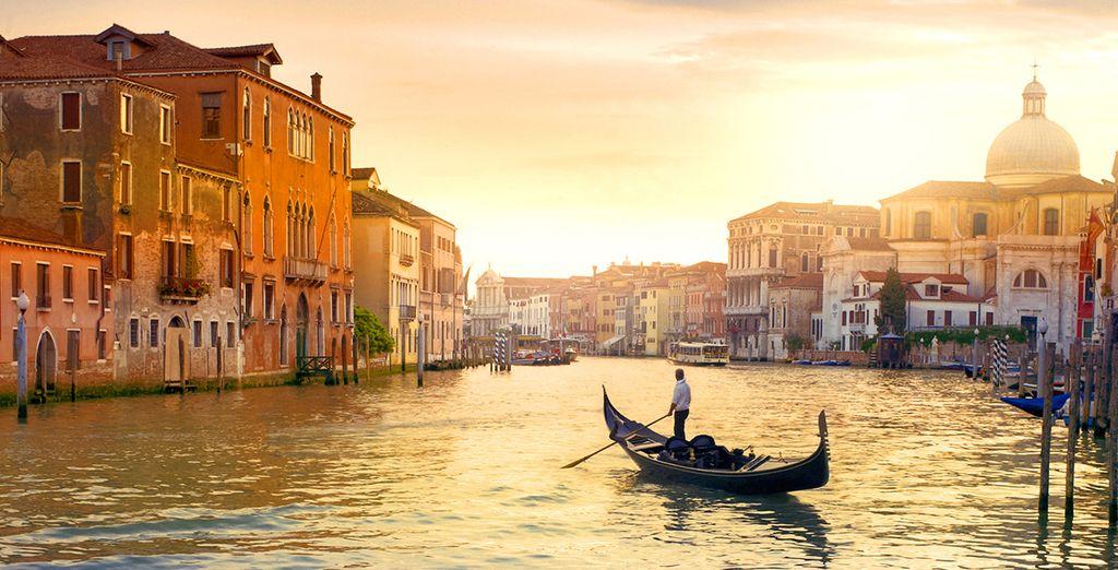 Beginning in beautiful Venice