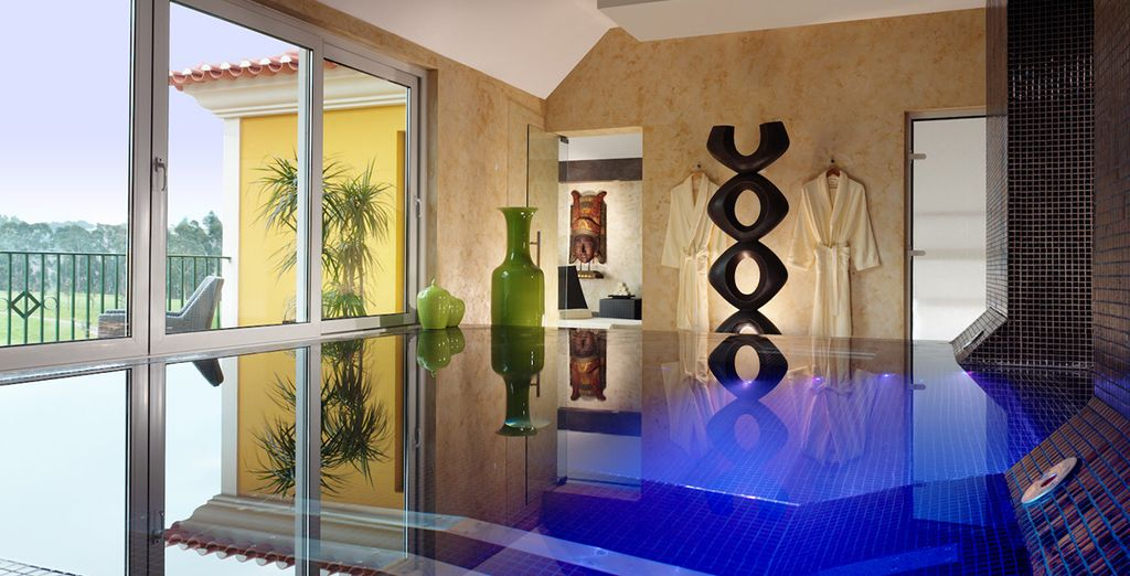 Take some time out in the 700m² spa or the fitness centre
