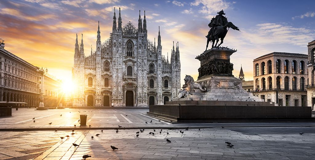 Discover Milan's art, architecture and fashion...
