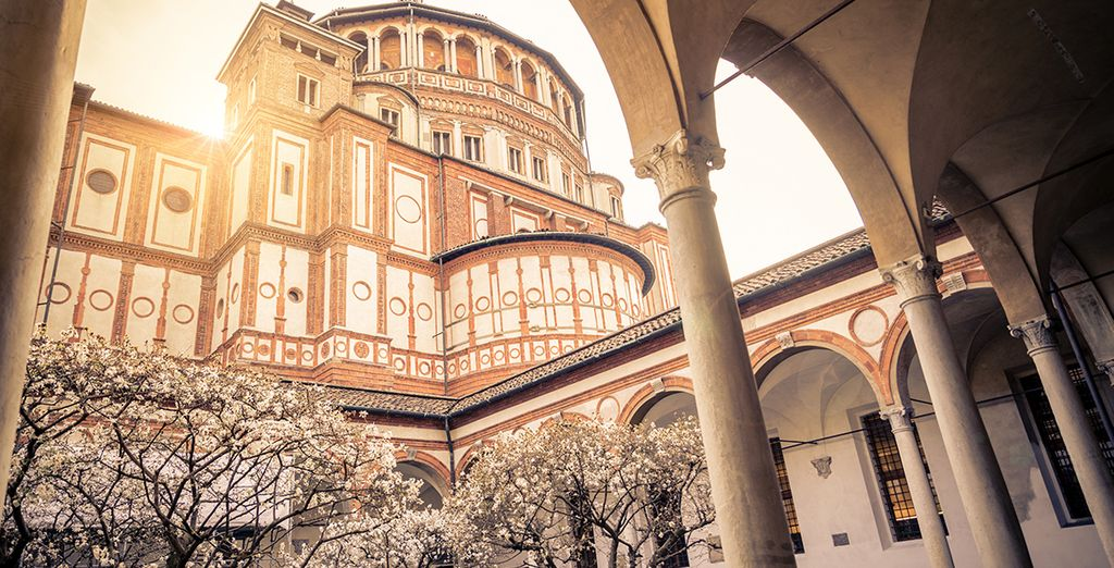 Your hotel is just 2.5 km from Santa Maria delle Grazie