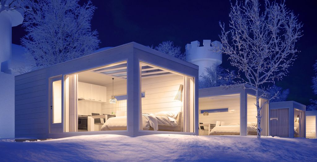 Discover Finland and stay in unique accommodation with this tour