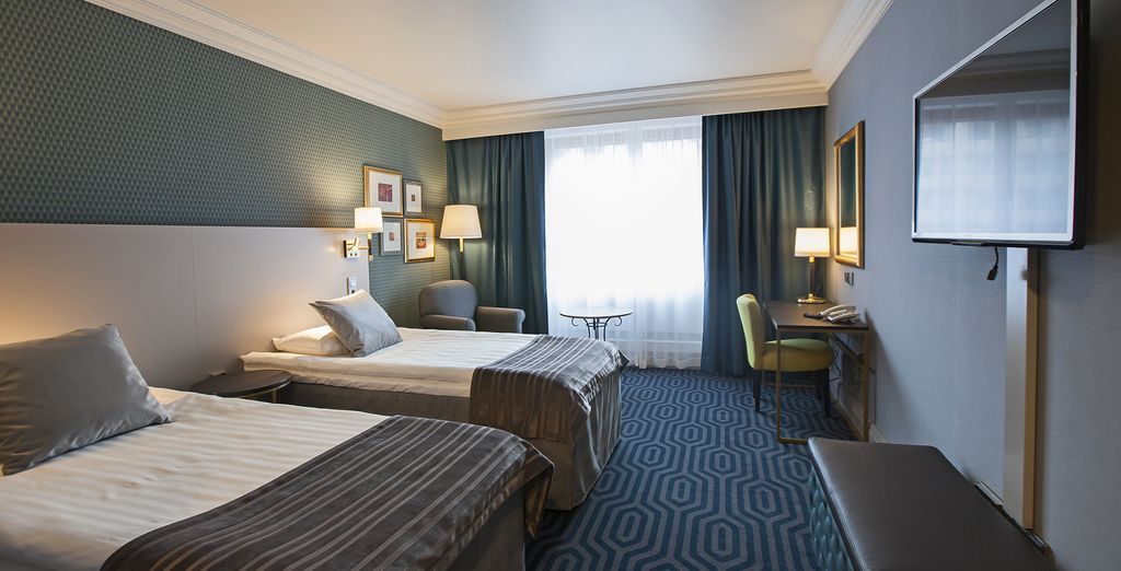 Stay in a Standard Room at Scandic Park Helsinki