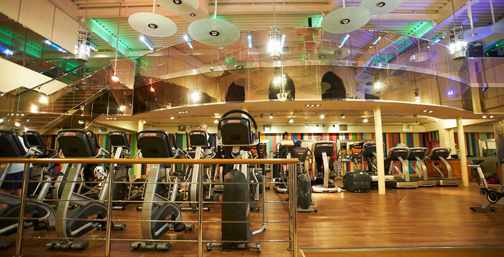 And an extensive fitness centre!