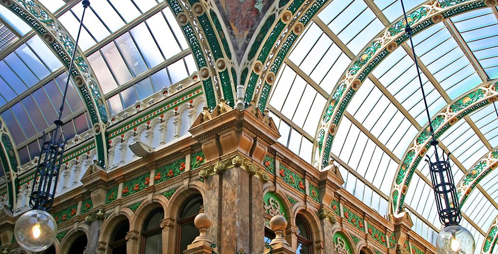 Be sure to visit the famous Leeds Arcade for some designer shopping