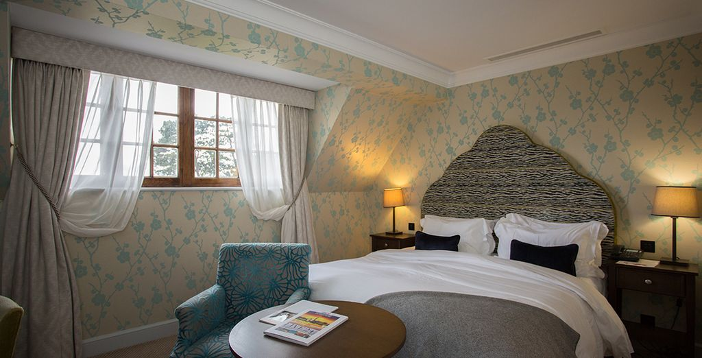 Choose from a Hall Executive Double Room