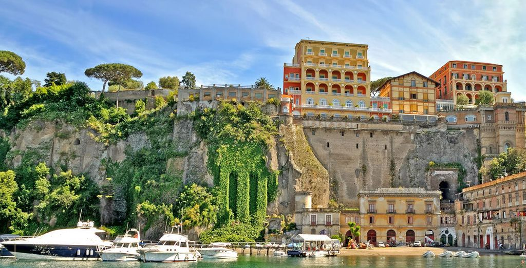 Sorrento, the gateway to the Amalfi Coast