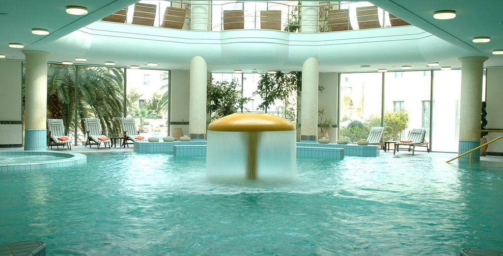 The spa will leave you feeling relaxed and rejuvenated