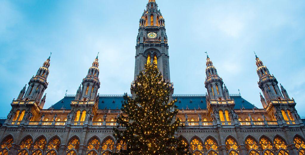 When festive decor adorns the city