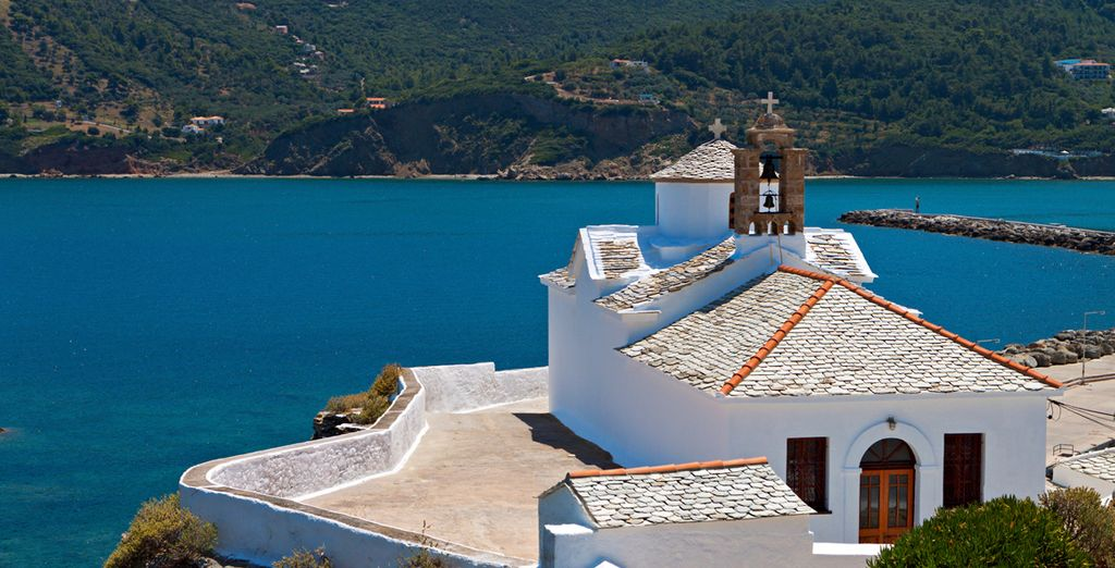 Or explore the island's traditional architecture and quaint villages