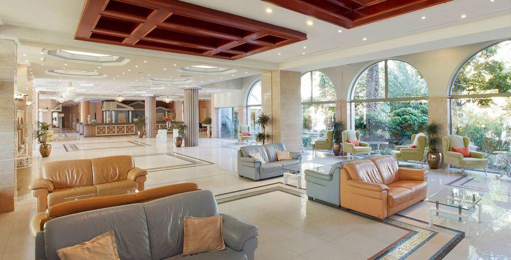 Look no further than Atrium Palace Resort