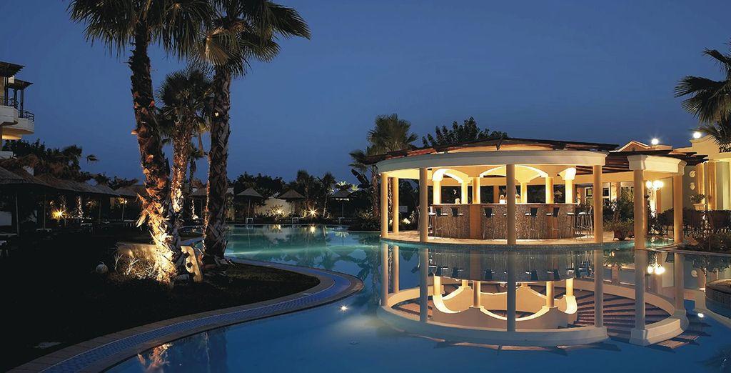 A peaceful spa sanctuary