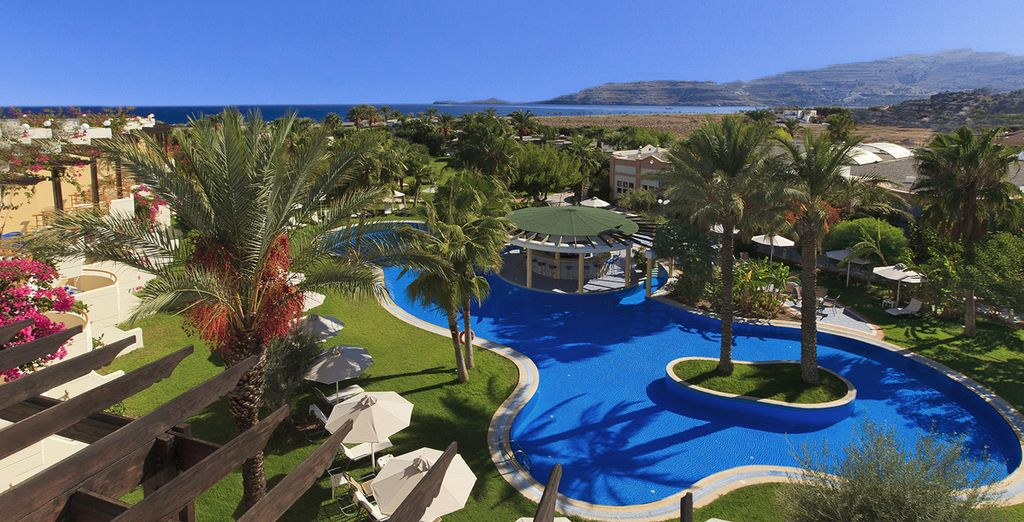 Soak up the luxury of this superb resort