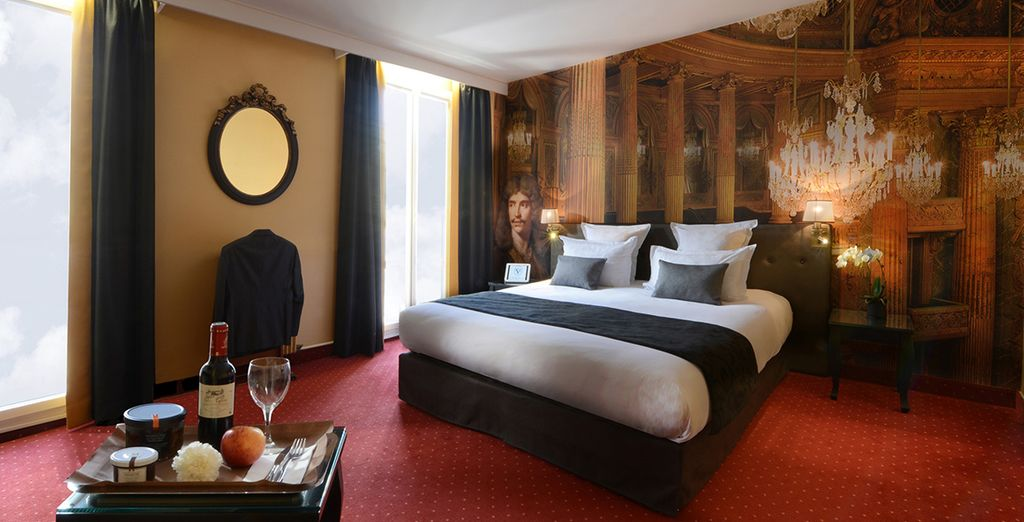 Our members may choose from a Classic Room